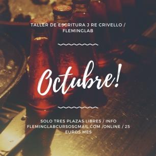 Taller de escritura j re crivello _ FlemingLAB octubre