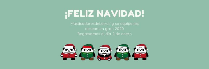 Santa Panda Family Twitter Header
