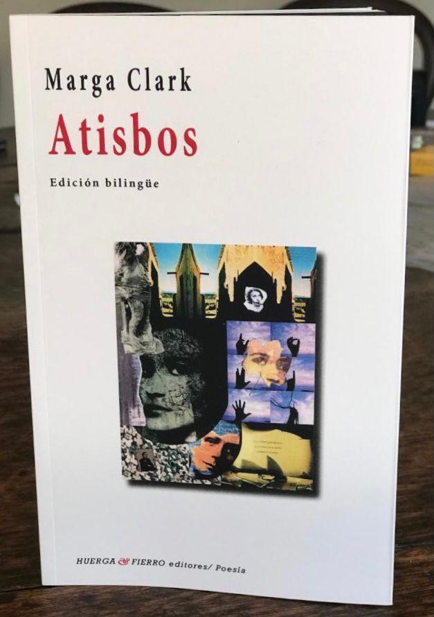 Lectura poética de Marga Clark del poemario: ATISBOS